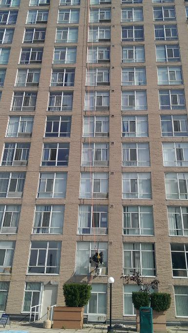 high rise window cleaning window washing
